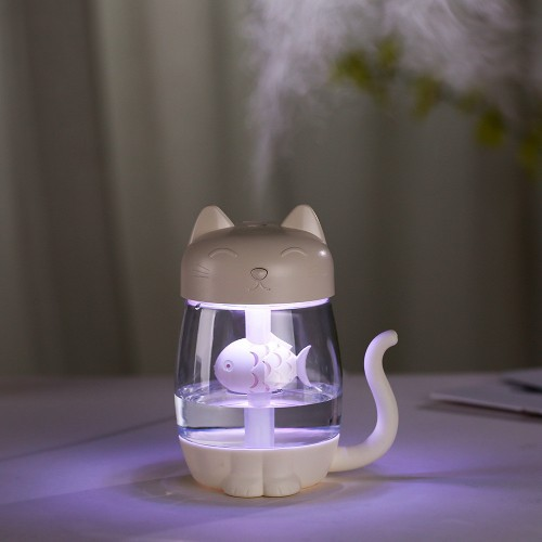 Reed Diffuser Sets Humidifier 3 In 1 Air Purifier Portable USB Humidifier Steam Night Light Fan