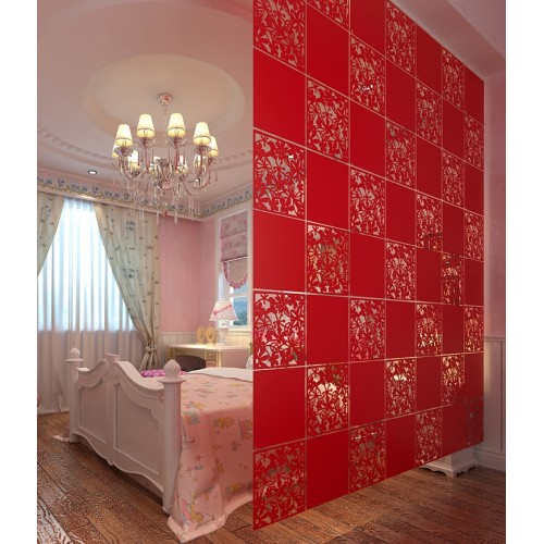 12PCS Room divider Biombo Room partition wall room dividers Partitions PVC Wall stickers room dividers partitions