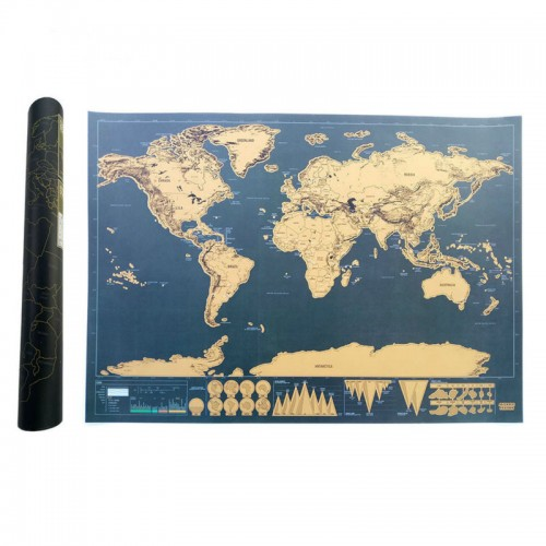 Scratch Map Of The World Travel Edition Deluxe Scratch Off Map Personalized World Map Poster Black
