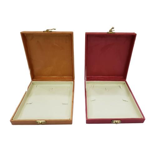 Jewelry Display Box Case Organizer Necklace Holder Flat Pad
