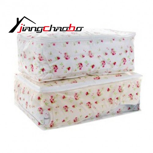 Storage Bags Home Storage Organization Waterproof Dustproof School Bags For Quilts Students Size PEVA Bags quilt
