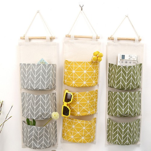 Wall Hanging Storage Bags Organizer Clothing Jewelry Closet Organizer Bags Pocket Hanging Holder Wall Storage Bags