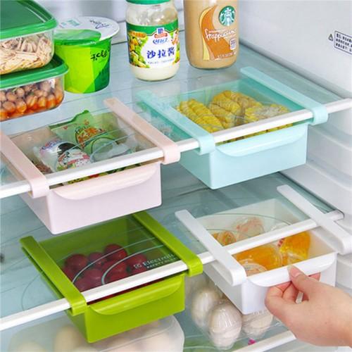 Economic Refrigerator Storage Box Fresh Spacer Layer multi purpose Storage Rack Creative Kitchen Supplies Twitch Type