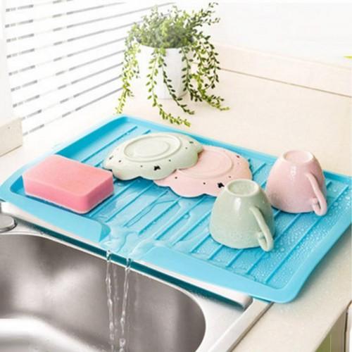 Kitchen Plastic Dish Drainer Tray Large Sink Drying Rack Worktop Organiser HOT Drop shipping4 28 30