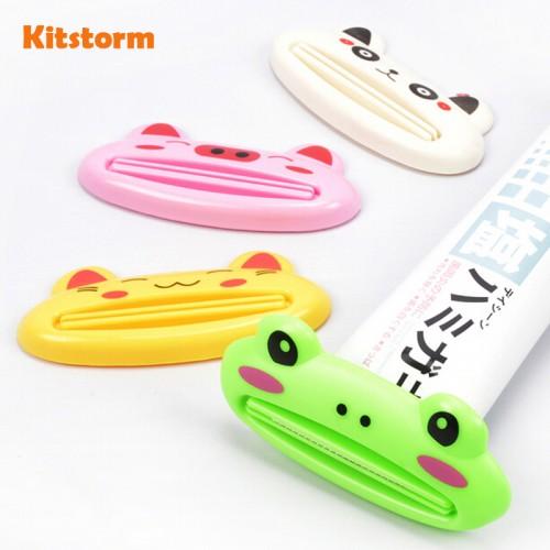 Multifunctional Toothpaste Clip Squeezer Creative Cute Cartoon Animal Design