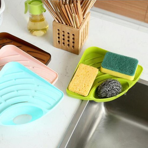 Useful High Quality Household Triangular Shelf In The Kitchen Sink Dish Sponge The Bathroom Soap Rack
