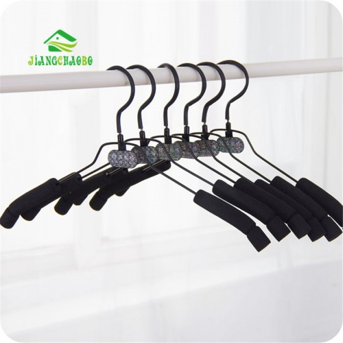 10 PC Lot Free Shipping Coat Hanger Sponge Anti Slip Clothes Hangers Magic Hanger Clothes Rack