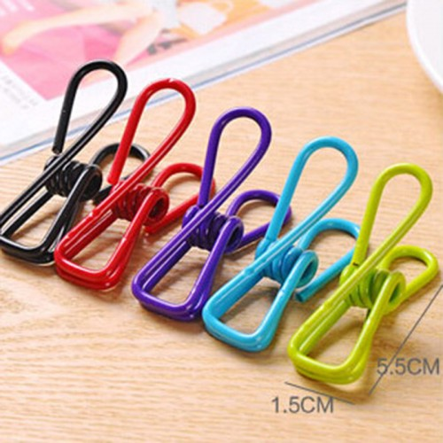 Excellent Quality 10pcs Stainless Steel Clothes Peg Towel Socks Clip Pants Clothes Underwear Clips Small Metal