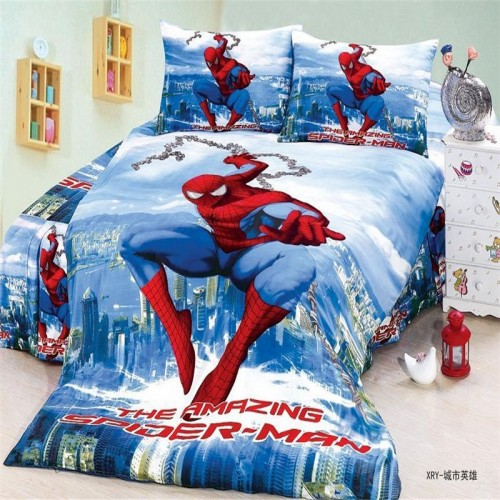 avengers boys bedding set duvet cover bed sheet pillow cases twin single
