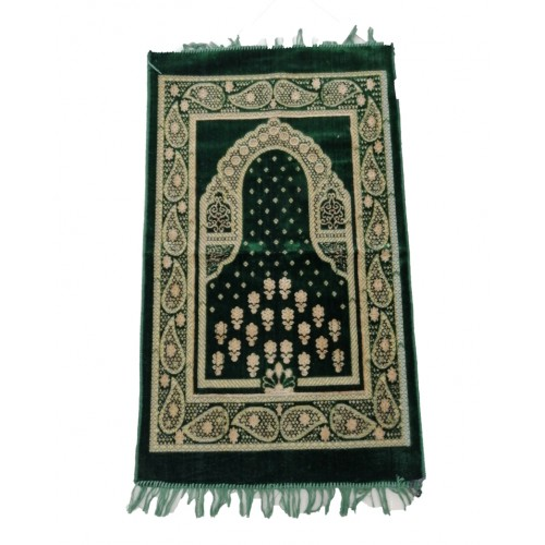 Floral Prayer Mat Islamic Travel Prayer Rug For Worship