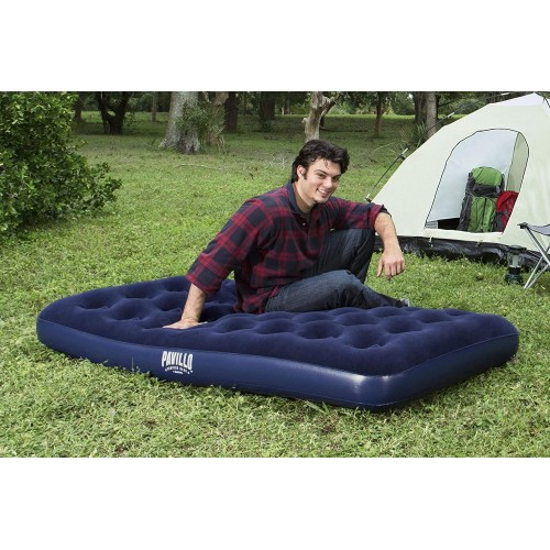Pavillo Airbed Twin Built-In Foot Pump 1.88m X 99cm X 22cm