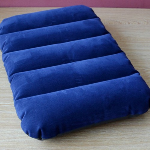 100 Quality Ultra light Inflatable Air Cushion Pillows Portable Outdoor Travel Cushion Nap Neck Sleeping Bedding