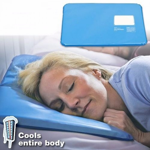 Summer Useful Therapy Insert Sleeping Aid Pad Mat Muscle Relief Cooling Gel Pillow Ice Pad Massager