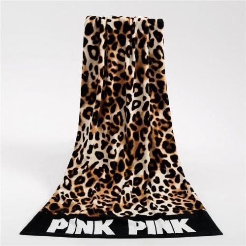 Fashion Sunbath Leopard Beach Towels 100 Cotton Women Yoga Towel Swimming Sports Wrap Blanket Quick Dry