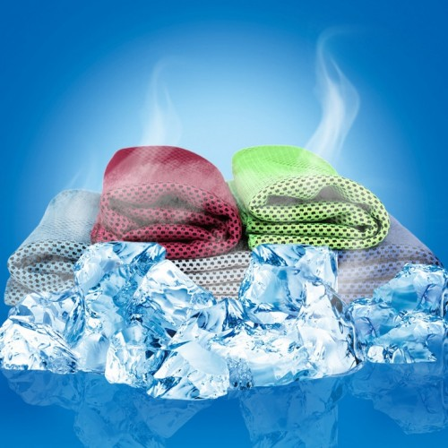 Multicolor 90 30cm Ice Towel Utility Enduring Instant Cooling Towel Heat Relief Reusable Chill Cool