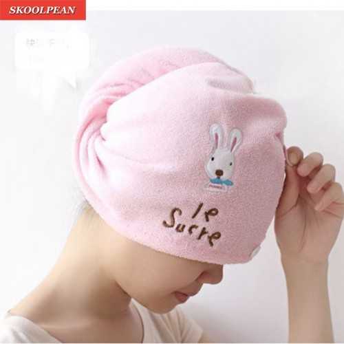 Super absorbent Soft Hair Towel Turban Hair Drying Cap Bathrobe Hat Microfiber Magic Hair Head Wrap