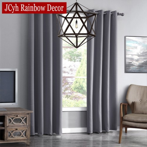 JRD Modern Blackout Curtains For Living Room Window Curtains For Bedroom Curtains Fabrics Ready Made Finished