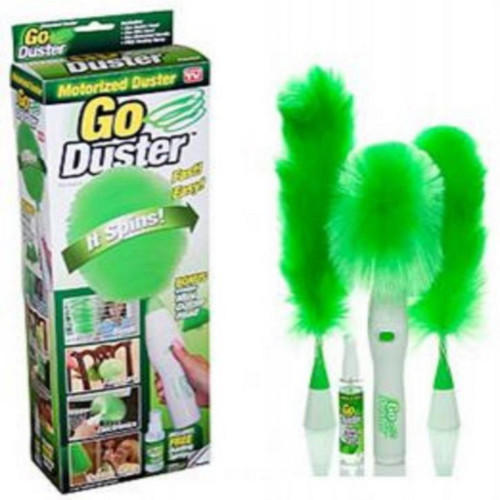Go Duster Feather Dust Brush Vacuum Cleaner Parts Household Clean