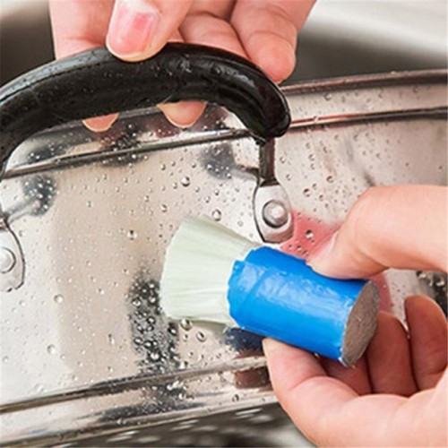 Happy Sale Stainless Steel Rod Magic Stick Rust Remover Cleaning Wash Brush Wipe Pot