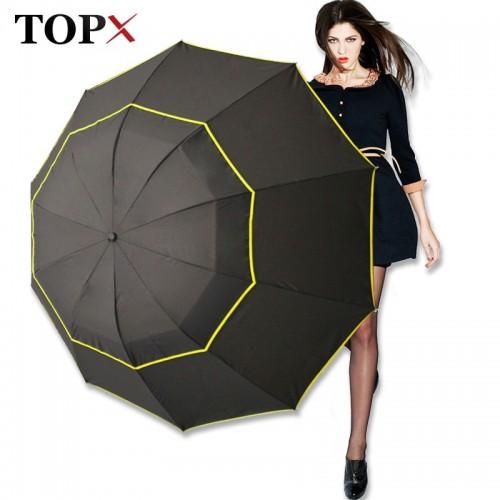 130cm Big Top Quality Umbrella Men Rain Woman Windproof Large Paraguas Male Women