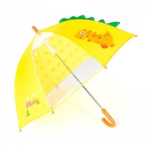 Transparent Kids Umbrella kids Child Girl Cartoon Animal Creative Straight Rod Children Umbrellas Paraso