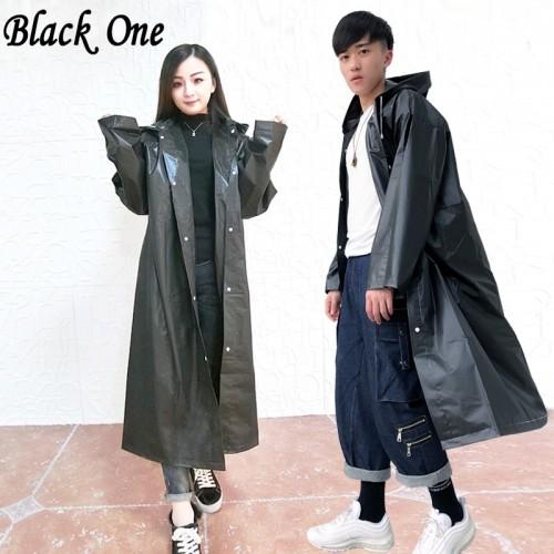 Women Raincoat Men Black Rain Clothes covers Impermeable Rainwear Capa de chuva chubasquero Poncho Waterproof Hooded