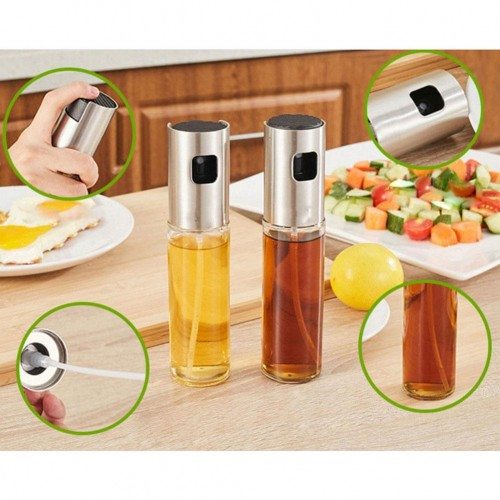Kitchen Baking Oil Spray Empty Bottle Vinegar Bottle Oil Dispenser