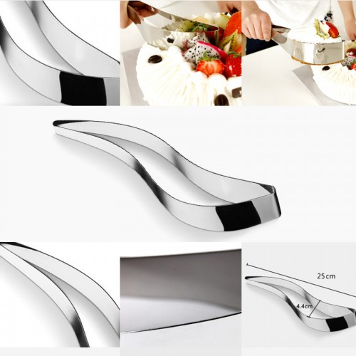 One piece of stainless steel cake cut clip Cake divider cutter blade is the bread and