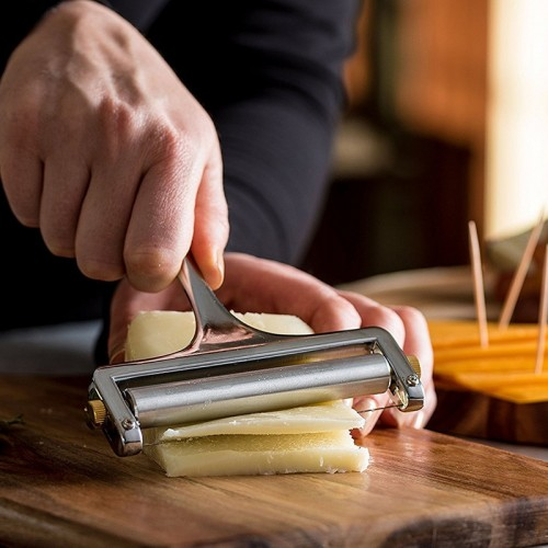 Alloy Adjustable Cheese Grater Slicer Kitchenware Tools Baking Fondue Kitchen Accessories Knife For Cheese Ralador De