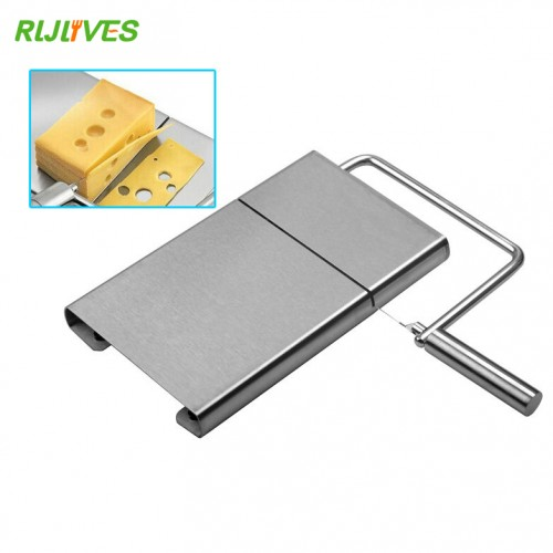 Stainless Steel Wire Making Cheese Slicer Butter Cutter Knife Board Dessert Blade Kitchen Cooking Bake Tool