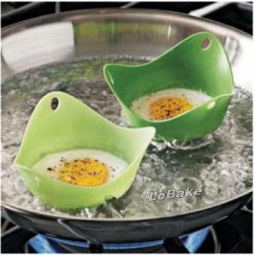 2pcs lot New arrivals silicone egg steamer oven microwave steamer Cooker Food Vegetable Bowl for