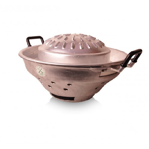 High Quality Thailand Style 35cm Iron Hot Pot Thailand Characteristic Fondue With Cover Free Shipping.jpg 640x640
