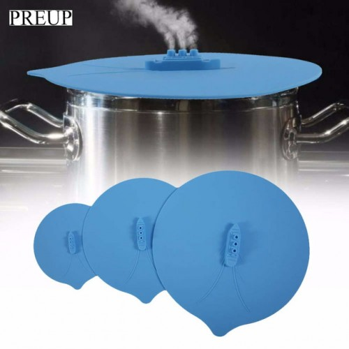 PREUP 3Pcs Silicone Steam Ship Pot Lids Pressure Cooker Seal Slicone Cover For Pan Silicone Spill.jpg 640x640