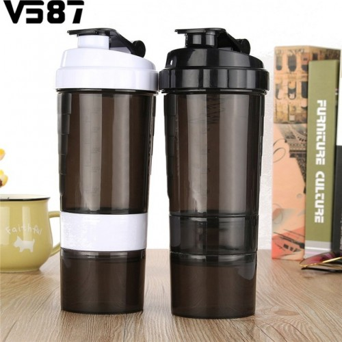 Sports Nutrition Whey Protein Shaker Blender Mixer Cup Sports Fitness Gym 3 Layers Multifunction 500ml BPA.jpg 640x640