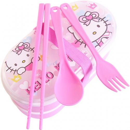 Hot Hello Kitty Plastic Food Box For Kids Cartoon Bento Box 1 piece Free Shipping.jpg 640x640