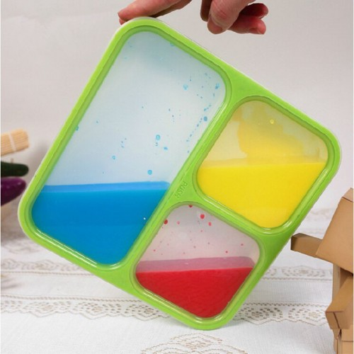Japan Style Compartment Seal Portable Plastic Box Bento Box For Kid Lancheira For Food With Container