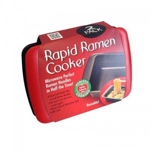 Life83 Life83 2 pcs lot Rapid Ramen Cooker Cooking Noodle Bowl Microwavable reusable healthy bowl
