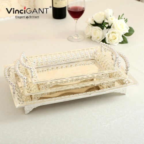 Metal Dinner Plates Silver Serving Tray Party Wedding Bar Hotel Buffet Tray Cake Fruit Stand for.jpg 640x640