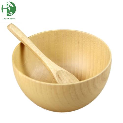 wooden bowl exquisite child tableware salad saladeira ramen fruteira para cozinha soup mixing rice bowls tigelas