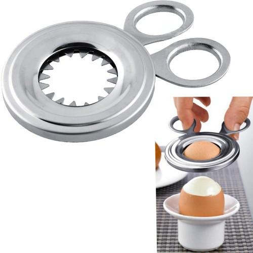 105mm Slicer Boiled Cooked Egg Topper Snipper Eggshell Shell Opener Kitchen Household Tool Cutter scissor Clipper