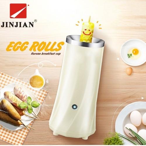 JINJIAN Automatic Multifunctional Electric Egg Shape Cooker Eggs Pancake Roll Machine Household Rolls fried eggs
