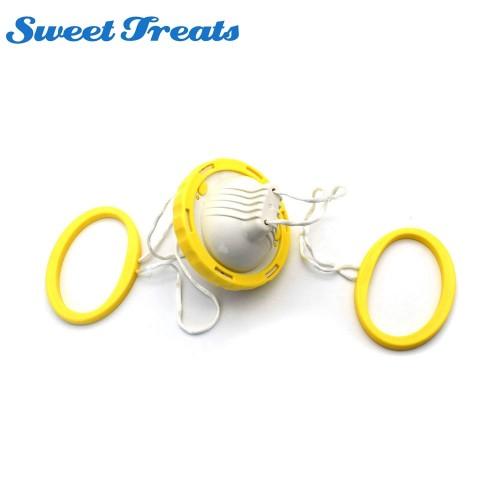 Sweettreats Golden Egg Maker Egg Scrambler Shaker Egg Yolk White Mixer Hand Powered Kitchen Cooking Tool
