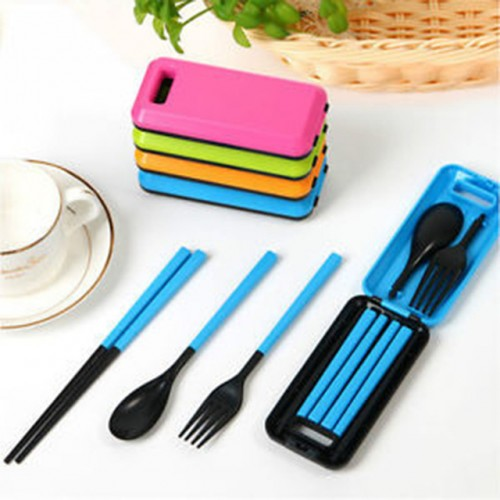3pcs set Marmita Bento Lunch Box Set Outdoor Travel Picnic Protable Tableware Eco friendly Abs Chopsticks.jpg 640x640