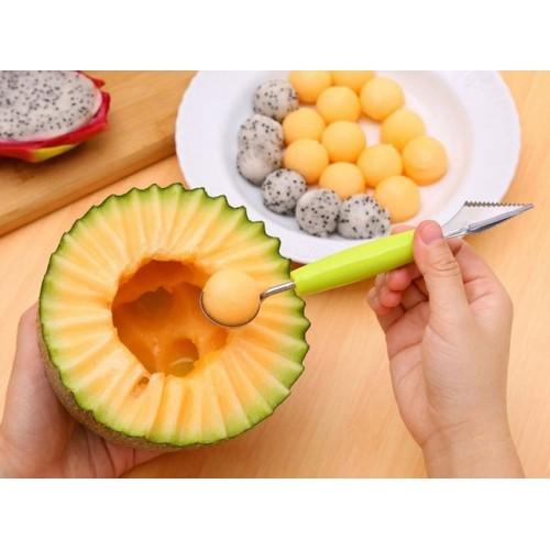 Kitchen Supplie Stainless Steel Ice Cream Double End Scoop Spoon Melon Baller Cutter Fruit Kitchen Tools.jpg 640x640