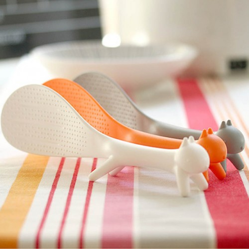 Rice Spoon Scoop Squirrel Non Stick Lovely Kitchen Supplie Soup Ladle Tableware Dinnerware Paddle Meal Spoon.jpg 640x640