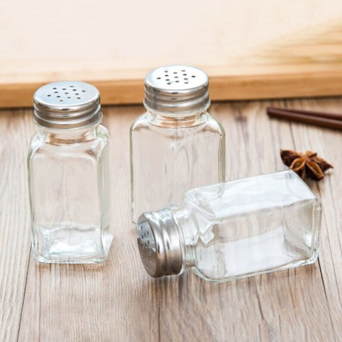 1 PCS Barbecue Kitchen Glass Cruet Condiment Bottles Seasoning Cans Pepper Shakers Salt Shaker Spice Container