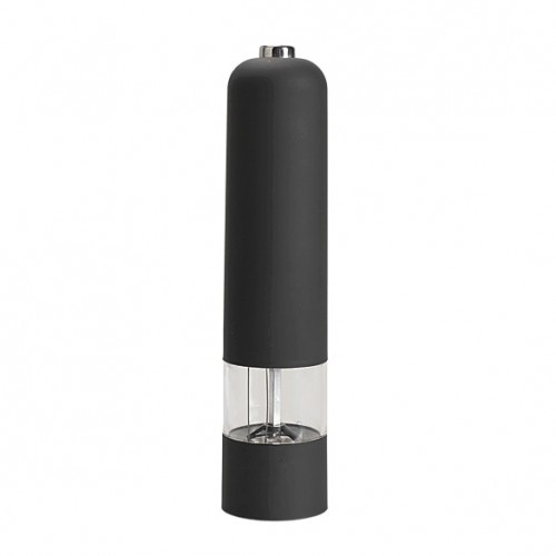 Electric Salt Spice Pepper Herb Mills Grinder with LED Light Black HG99