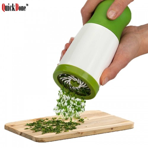 QuickDone Herb Grinder Spice Mill Parsley Grater Shredder Chopper Vegetable Cutter Cooking Kitchen Tools CKC1126