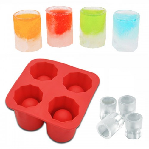 New Party Ice Tray Cool Shape Ice Cube Freeze Mold Ice Maker Mould