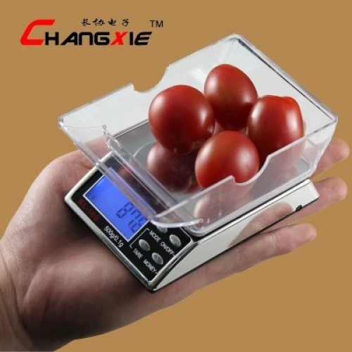 Jewelry tea mini electronic gram scales have money detector function blue backlit display free shipping.jpg 640x640